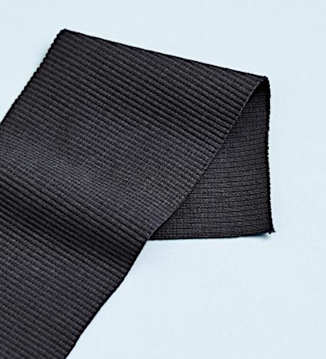 Modal rib jersey dark grey - Metermeter
