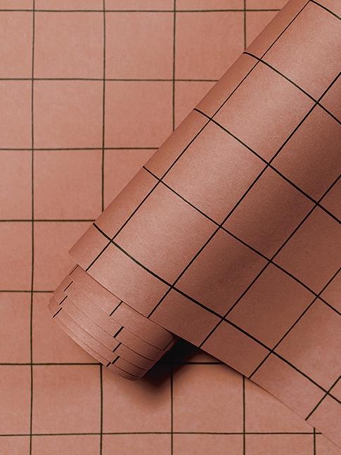 Papier peint terracotta Lilipinso