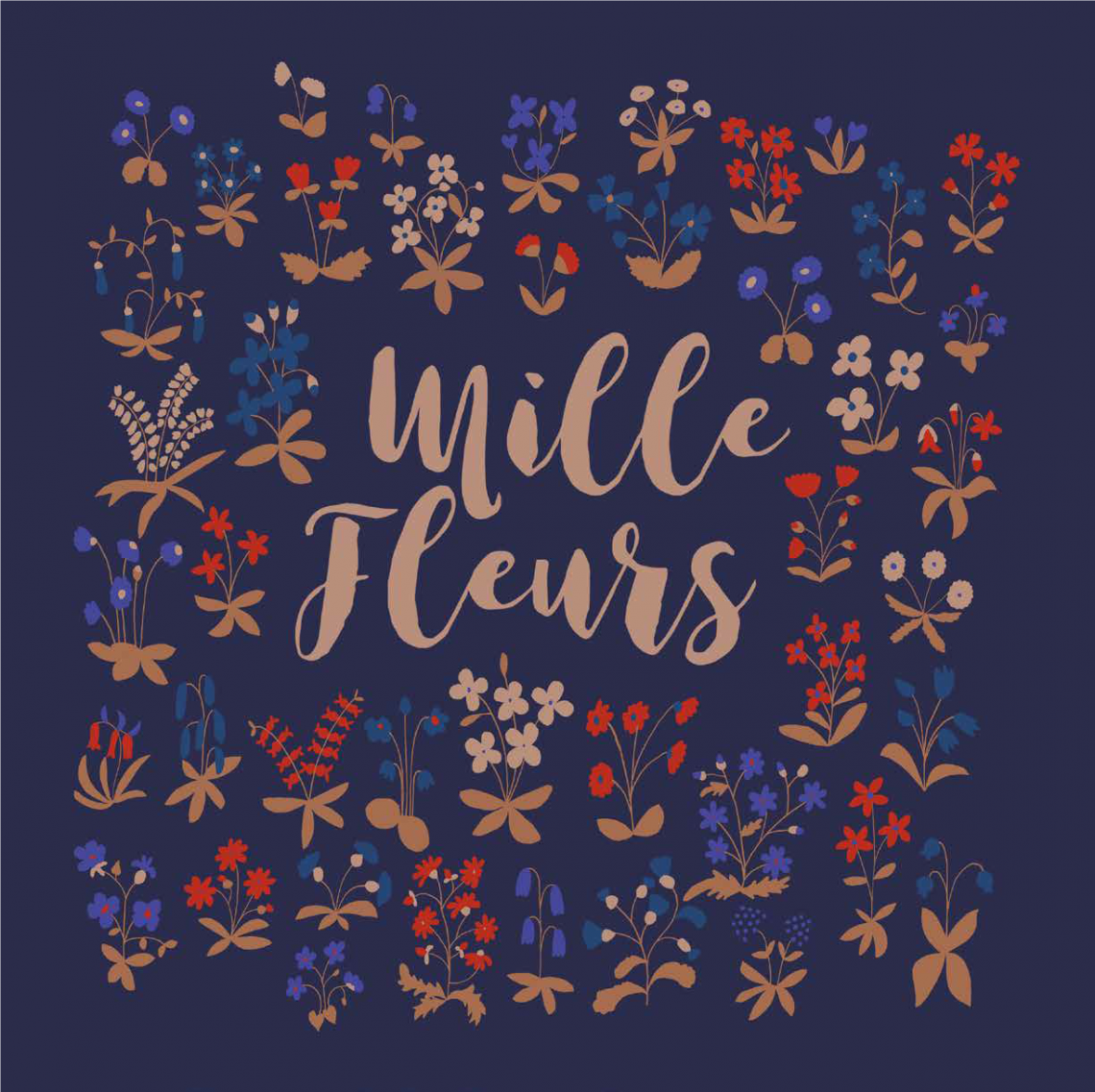 Collection mille Fleurs