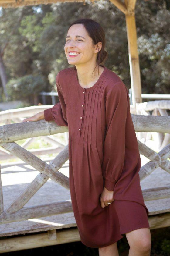 robe Atlas - patron Maison Fauve