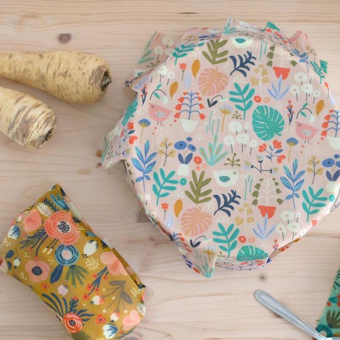 Tuto bee wrap - emballage réutilisable - Cousu Bio