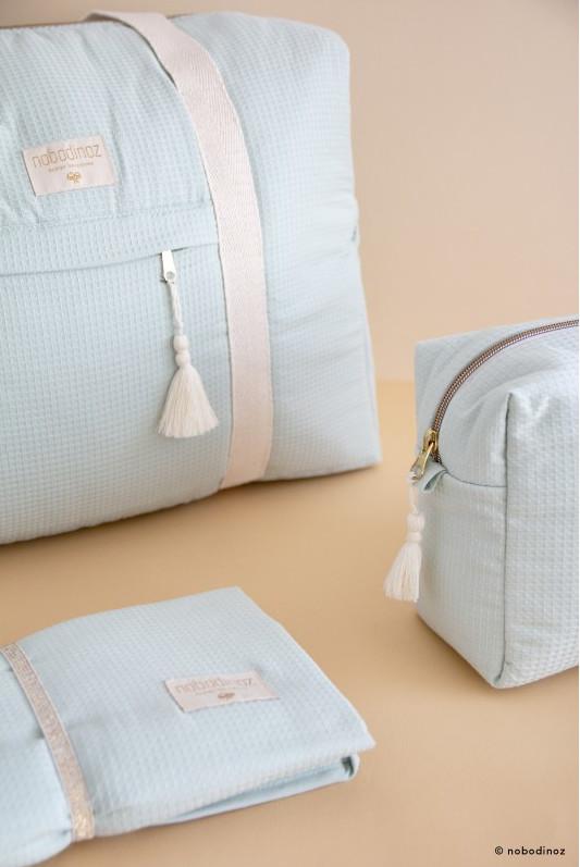 Ensemble tapis, sac et trousse à langer - Nobodinoz