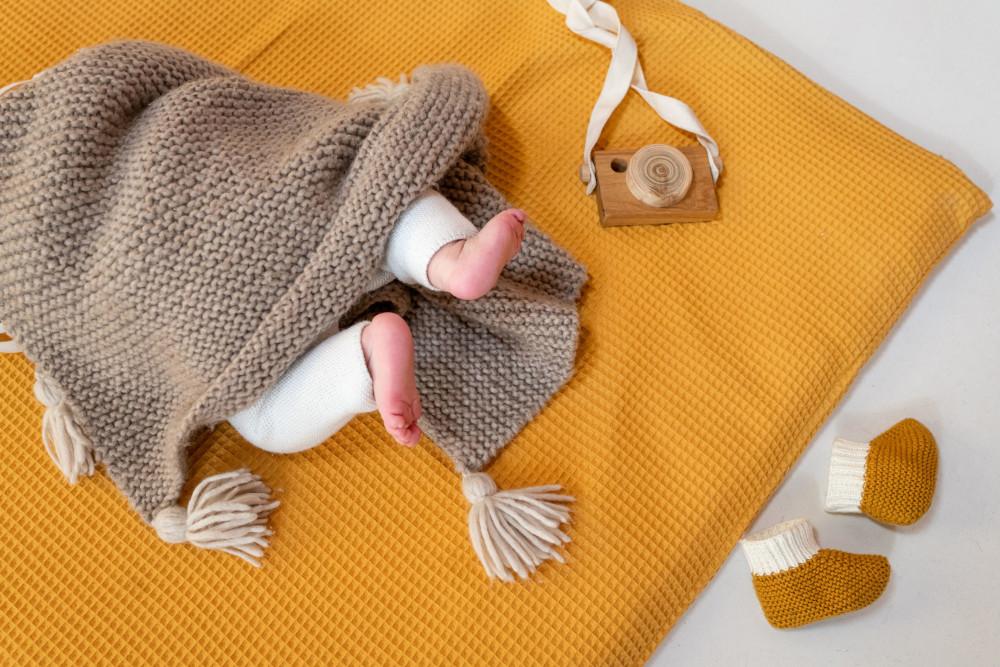 Tapis Montessori en nid d'abeille - Merci Suzy