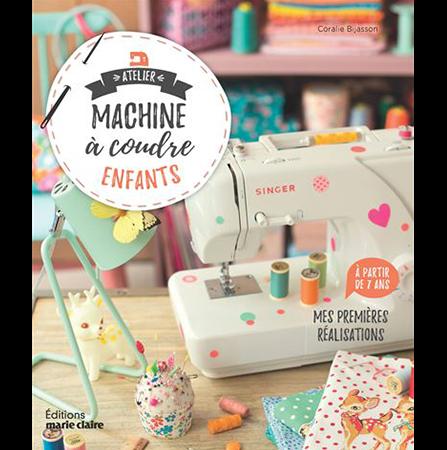 livre atelier machine à coudre enfant