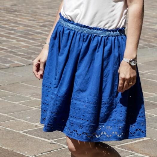 Tuto jupe Mademoiselle Daisy - p&m patterns
