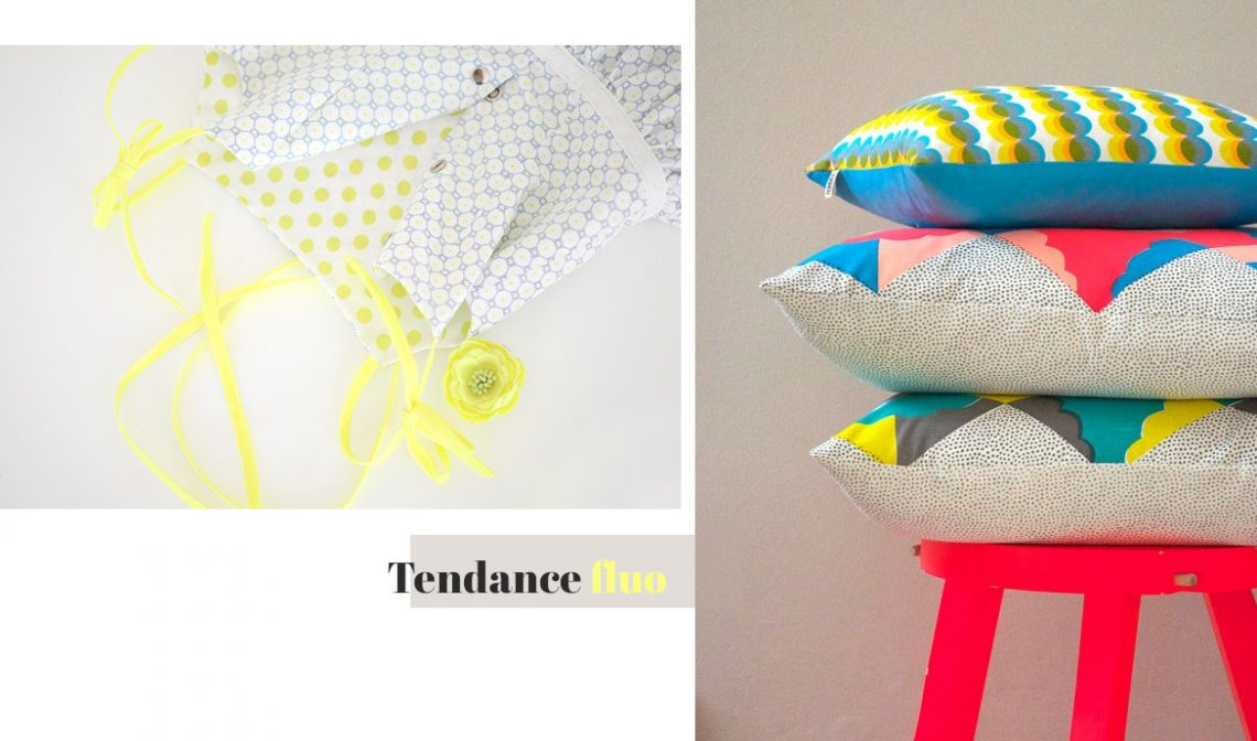 Tendance couture fluo