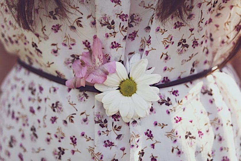 coudre une maxi robe à fleurs