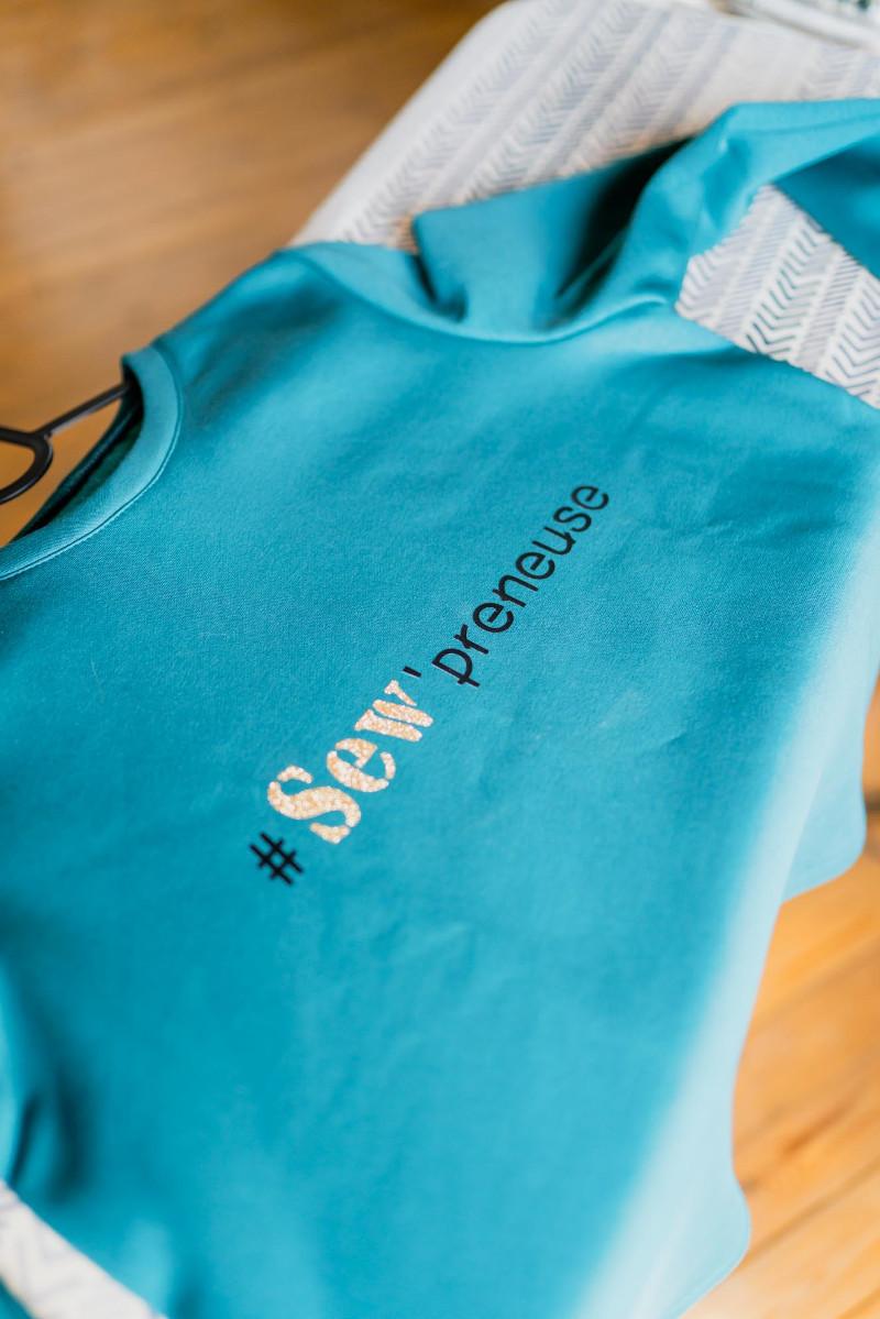 T-shirt Sew'preneuse